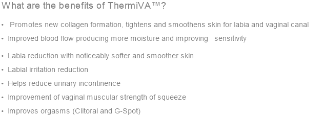 What are the benefits of ThermiVA™?